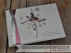 star of light shaker card flat …