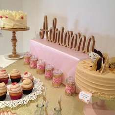Adrianna's Pink and Gold Dora Party - pink and gold