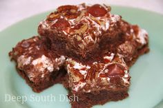 Deep South Dish: Mississippi Mud Cake