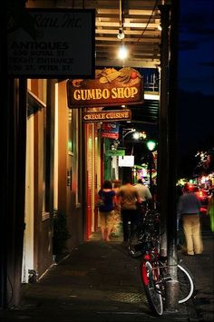 Gumbo shop for me! Love this photo!