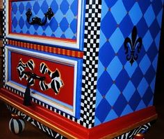 cool painted furniture