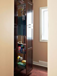 Keep your cleaning tools in a central location for easy access: http://www.bhg.com/homekeeping/house-cleaning/tips/whole-house-cleaning-schedule/?socsrc=bhgpin091614buildonthislist&page=5