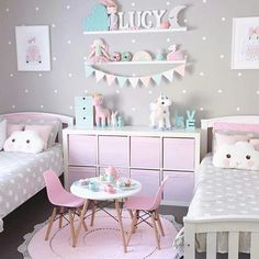 Girl Room Decor 39746 Colored Polka Dots Wall Stickers For Kids Room Wall Decor Colorful Nursery Dots – House. Girls Room Wall Decor, Girls Room Design, Kids Bedroom Designs, Bedroom Ideas, Nursery Room Ideas, Kids Bedroom Paint, Girls Room Paint, Cute Diy Room Decor, Girl Bedroom Walls