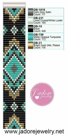 off loom beading techniques Loom Bracelet Patterns, Peyote Stitch Patterns, Beading Patterns Free, Bead Loom Bracelets, Beaded Jewelry Patterns, Bead Loom Patterns, Weaving Patterns, Beading Ideas, Embroidery Patterns