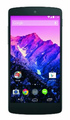 Google Nexus 5 16GB, Black (Sprint)  - Display: 4.95-inches  - Camera: 8-MP  - Processor Speed: 2.3 GHz  - OS: Android 4.4 (KitKat)  - Built-In Storage: 16GB