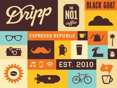 Dripp Coffee Pattern / salih kucukaga