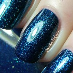 Zoya Ignite Collection for Fall 2014 - Swatches and Review | Pointless Cafe #BlueNailPolish #NailPolish #Beauty