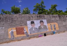Trips 'n Toys: Birthplace of Oliver Hardy - Harlem, GA #exploregeorgia