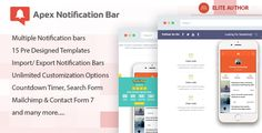 Apex Notification Bar - Responsive Notification Bar Plugin for WordPress - https://codeholder.net/item/wordpress/apex-notification-bar-responsive-notification-bar-plugin-wordpress