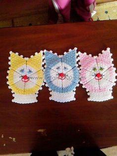 Easy Knitting Patterns, Easter Crochet, Washing Clothes, Crochet Earrings, Christmas, Kitchen, Stitching, Xmas, Navidad