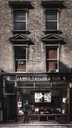"amelie-jolie: "" James Taylor & Son, Marylebone, London """