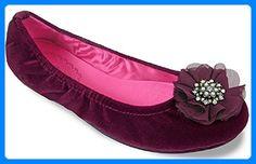 Lindsay Phillips  Joy, Damen Ballerinas Rot Rojo - granate - Ballerinas für frauen (*Partner-Link)