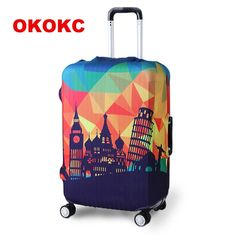 Pattern Ropical Leaves Foliage Travel Luggage Protector Case Suitcase Protector For Man/&Woman Fits 18-32 Inch Luggage
