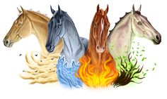 Commission - Ravakins banner by Vizseryn on DeviantArt Mythical Creatures Art, Magical Creatures, Fantasy Creatures, Horse Drawings, Animal Drawings, Horse Artwork, Horse Paintings, Pastel Paintings, Horse Sketch