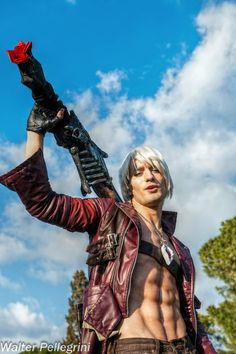 Last Words ? - Dante DMC3 Cosplay by Leon Chiro by ~LeonChiroCosplayArt on deviantART