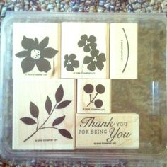 "Stampin Up ""Best Blossoms"" set of 6 stamps Brand new never used Stampin Up ""Best Blossoms"" set of 6 stamps. Stampin up Other"