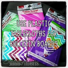 Teachery Tidbits: Cheap and Easy Bulletin Boards