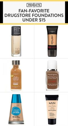 The truth? We've all got something to hide. Whether it's blemish scars, stubborn acne, or wrinkles here and there, total coverage shouldn't be so costly. For every bottle behind the makeup counter, there is an option equally as effective on the shelves of your local drugstore. Check out these budget-friendly foundations that offer more than what you pay for.
