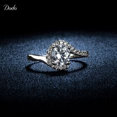 Unique Product CZ Diamond 925 Sterling Silver Vintage Anel Crown Rings For Women Wedding Accessories Shine Crystal Jewelry R49