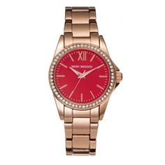 a8c12de370 Mark Maddox - Ladies Pink Gold Stainless Steel Watch - MM3015-77 - Online  Price