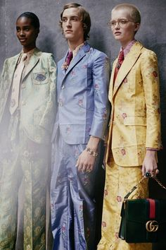 Gucci Goes Gender Neutral | InStyle UK