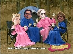 "OK, now check out the Lannisters in Snuggies: | 25 Steps To Get Over Your Intense ""Game Of Thrones"" Depression"