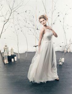 Hollywood Glamour, Finland, Aurora, Collaboration, One Shoulder Wedding Dress, Students, Photoshoot, Wedding Dresses, Model