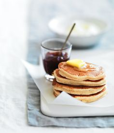 Delightful pikelets made from ricotta!