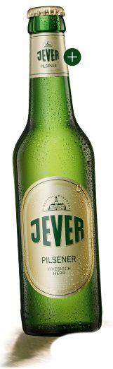 Jever Pilsener - Das Pils in der Brandung. Kaum ein anderes Premium Bier ist sich selbst so treu geblieben wie Jever. Seit über 160 Jahren kultiviert Jever seinen ureigenen friesisch-herben Geschmack. Und der hat einen Grund: das Brauwasser. Es ist gleichzeitig besonders rein und weich, und erlaubt uns, mehr Hopfen zuzugeben. Das macht Jever so friesisch-herb und erfrischend zugleich.