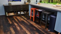 New Van Gogh Charred Oak features in the Good Homes Roomsets