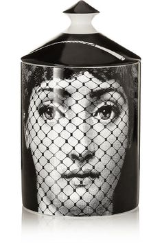 Fornasetti | Burlesque Thyme, Lavender and Cedarwood scented candle, 300g | NET-A-PORTER.COM