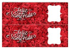 Faixa lateral para bolo Dia dos Namorados com foto Background Images For Editing, Banner, Neon Signs, Diy, Homemade Valentines, Valentines Day Pictures, Candy Baskets, Tags, Mugs