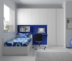 This excellent photo most certainly is an inspiring and splendid idea Small Room Design Bedroom, Box Bedroom, Wardrobe Design Bedroom, Kids Bedroom Designs, Kids Room Design, Bedroom Furniture, Bedroom Decor, Box Room Bedroom Ideas For Kids, Deco Furniture