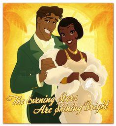 Fan Art of Prince Naveen & Princess Tiana for fans of Disney Princess 21509207 Disney Prom, Disney Princess Tiana, Disney Princesses And Princes, Frog Princess, Sailor Princess, Disney Nerd, Disney Love, Walt Disney, Princess Art