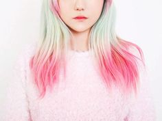 Pink hair - Pantone rose quartz hair inspiration