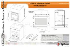 Dados para embutir forno Fischer (TORRE)