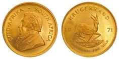 South Africa, Krugerrand 1971, 1 oz, vz-st