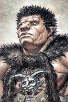 (Nosferatu) Zodd, (the Immortal) - Human/Barbarian form #Berserk
