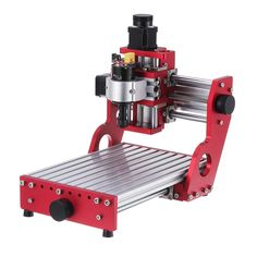 Red 1419 3 Axis Mini DIY CNC Router Standard Spindle Motor Wood Carving Engraving Machine Milling Engraver Woodworking Diy Cnc Router, Cnc Router Machine, Goods And Service Tax, Goods And Services, Milling, Wood Carving, Espresso Machine, Coffee Maker, Woodworking