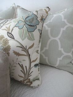 FAVORITE pillows color and pattern (design indulgence)