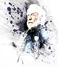 Hunger Games Fan Art / President Snow