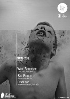 Save You feat. Will Berridge | Basing House | London | https://beatguide.me/london/event/basing-house-save-you-presents-will-berridge-ste-roberts-20140131