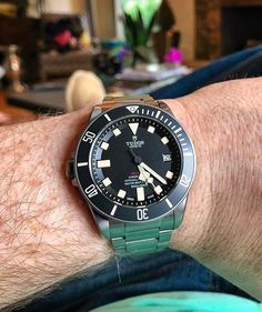 Casual Saturday with the Tudor Pelagos LHD. A perfect weekend watch that can do anything.