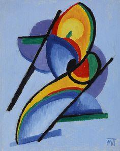 Mattis-Teutsch, Janos (1884-1960) - 1923 Composition (Private Collection) by RasMarley, via Flickr