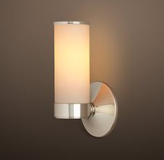 Sutton Single Sconce - Polished Nickel