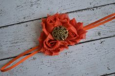Baby Thanksgiving headband First Thanksgiving Fall by AubreyGianna, $5.99