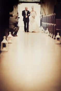 Winter Wedding - Ceremony Decor
