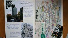 Hotel en metro kaart + plattegrond