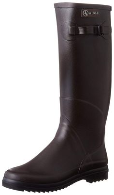 AIGLE Chantebelle Ladies Boot Brown 39 (US * Very nice of your presence to have dropped by to see the picture. (This is an affiliate link) Brown Boots, Hunter Boots, Knee High Boots, Rubber Rain Boots, Drop, Shoes, Link, Awesome, Check