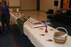 The Eagle Scout COH food table
